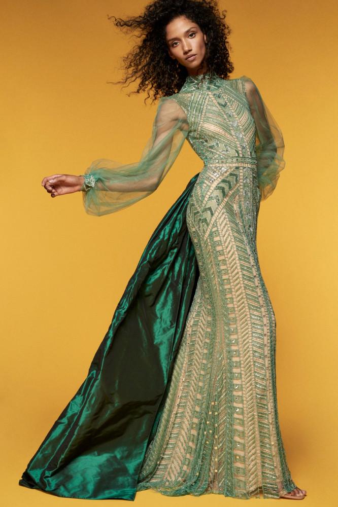 Модные женственные платья Sau Lee весна-лето 2021